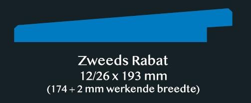 Zweeds Rabat 12 26 x 193 mm Iluswood