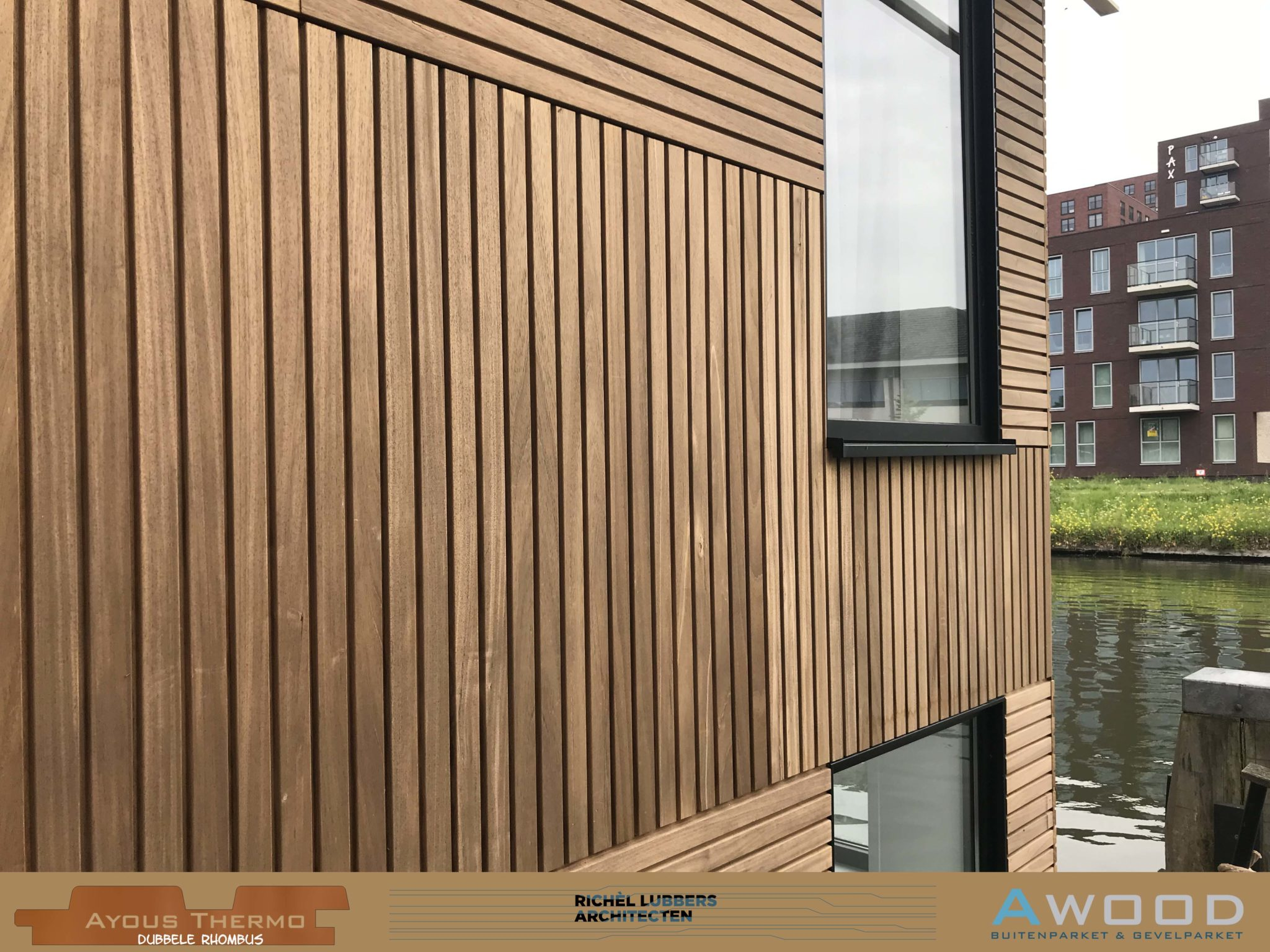 Ayous Dubbele Rhombus Woonboot Utrecht Richel Lubers Architect 9