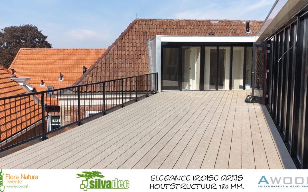 Silvadec Elegance Iroise Grijs houtstructuur 180 mm
